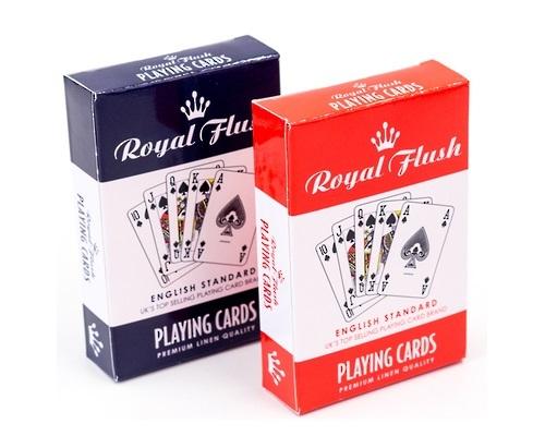 Royal Flush: Playing Cards - Blue image