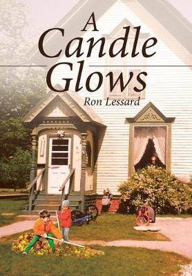A Candle Glows by Ron Lessard