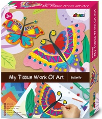 Avenir: My Tissue Work Of Art Kit - Butterfly