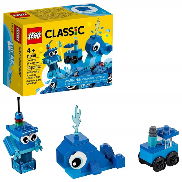 LEGO Classic: Creative Blue Bricks - (11006)