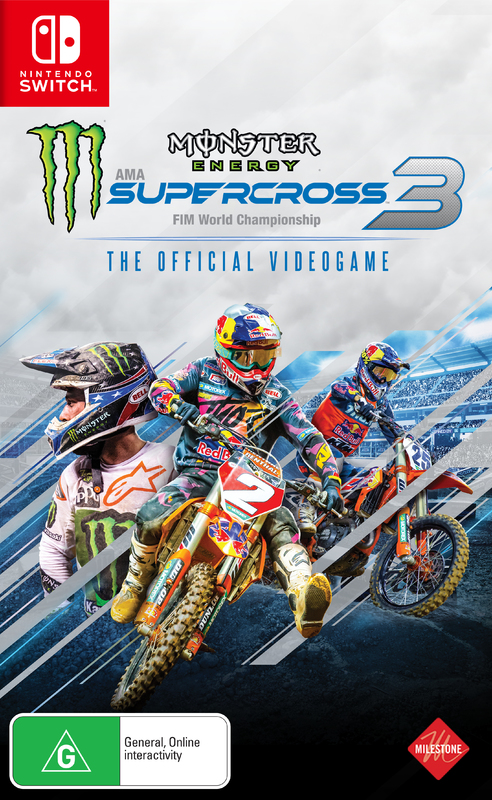 Monster Energy Supercross - The Official Videogame 3 for Switch
