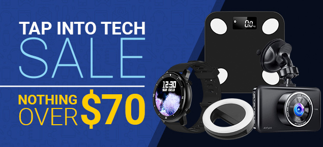 Tap into Tech Sale!