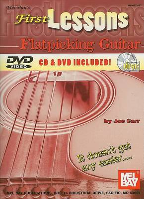 First Lessons Flatpicking Guitar by Joe Carr image