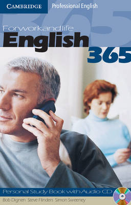 English365 1 Personal Study Book with Audio CD: For Work and Life by Bob Dignen image