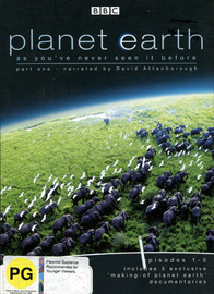 Planet Earth - Episodes 1-5 (Part 1) on DVD image