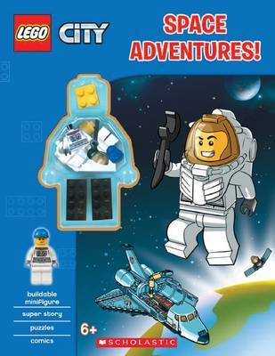 Space Adventures! (Lego City: Activity Book with Minifigure) by Ameet Studio image