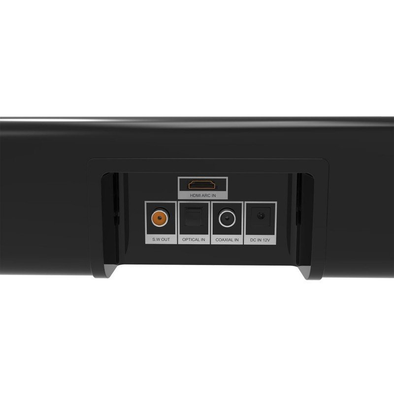 LASER Soundbar with HDMI, Optical, FM and Bluetooth image