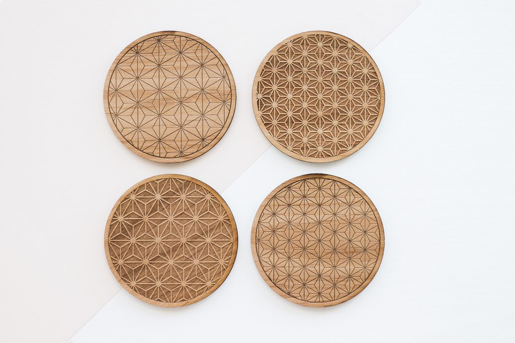Cardtorial Starburst Coasters image