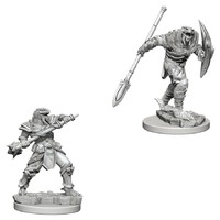 D&D Nolzur's Marvelous: Unpainted Miniatures - Dragonborn Fighter with Spear