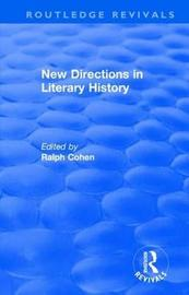: New Directions in Literary History (1974)