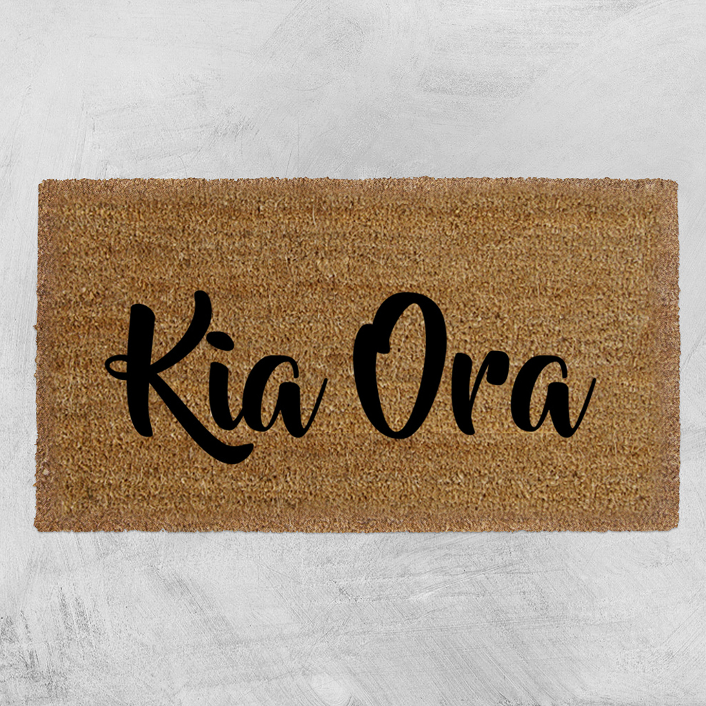 Natural Fibre Doormat - Kia Ora image