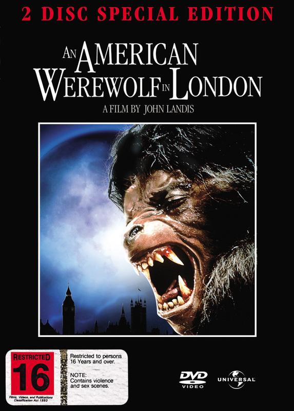 An American Werewolf In London SE (2 Disc Set) on DVD