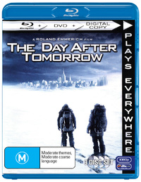 The Day After Tomorrow - Triple Play on Blu-ray