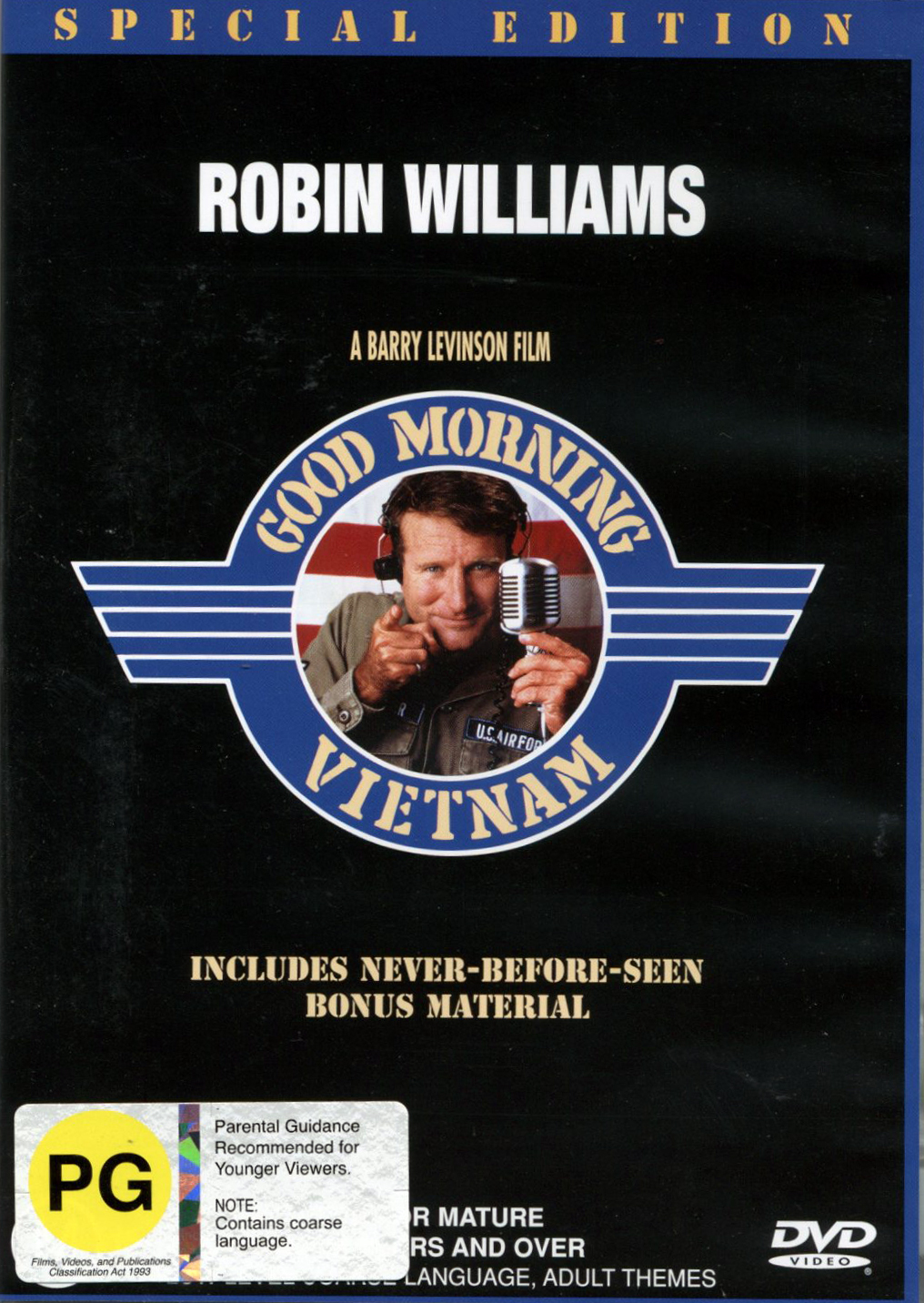 Good Morning Vietnam - Special Edition on DVD image