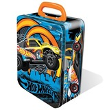 Hot Wheels: 18 Car Storage Tin - Yellow Car