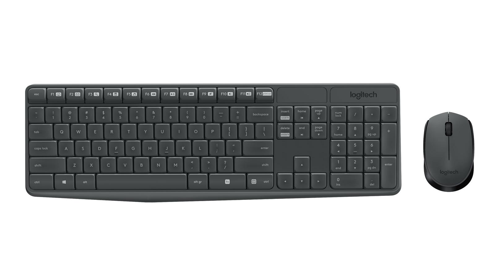 Logitech MK235 Wireless Keyboard and Mouse Combo image