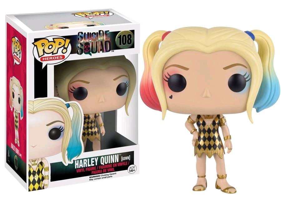 Suicide Squad - Harley Quinn Gown US Exclusive Pop! Vinyl Figure image