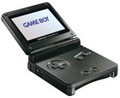 Game Boy Advance SP - Onyx (Black) for GBA