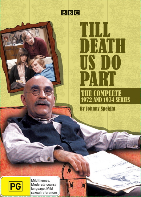 Till Death Do Us Part - Complete 1972 And 1974 Series (4 Disc Set) on DVD image
