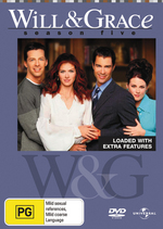 Will & Grace - Season 5 (4 Disc Set) on DVD