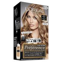 L'Oreal Preference Glam Hair Colour #02 Dark Blond to Light Blonde