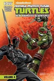 Teenage Mutant Ninja Turtles: New Animated Adventures: Volume 4 by Erik Burnham