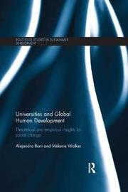 Universities and Global Human Development by Alejandra Boni image