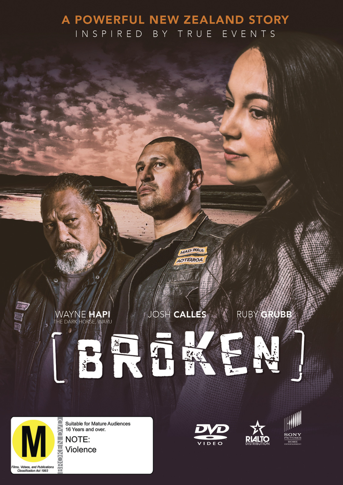 Broken on DVD image