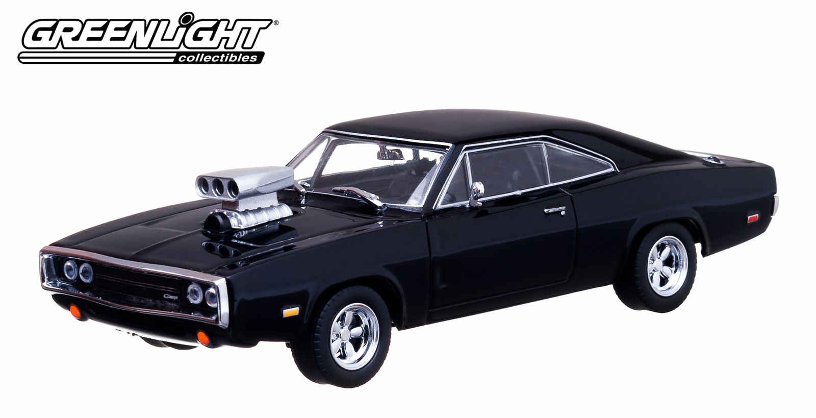 1/43: 1970 Dodge Charger (Dom's) - The Fast and the Furious - Diecast Model image