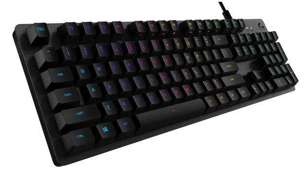 Logitech G512 Carbon RGB Mechanical Gaming Keyboard - Blue for PC
