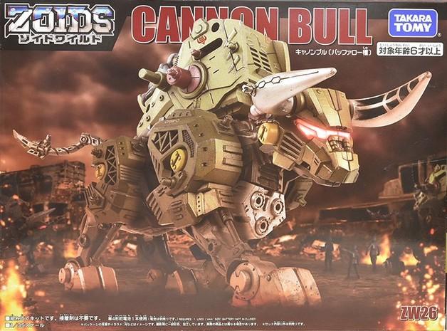 Zoids Wild: ZW26 Cannon Bull - Model Kit