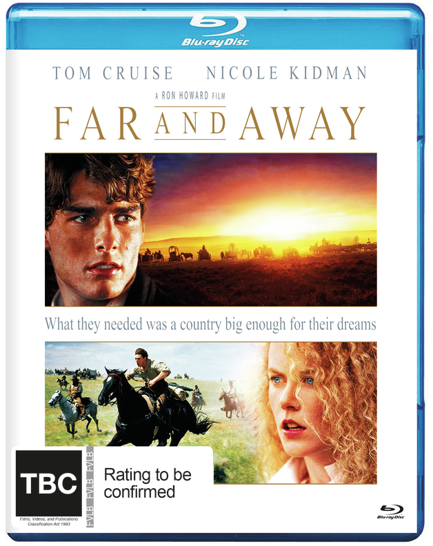 Far And Away on Blu-ray