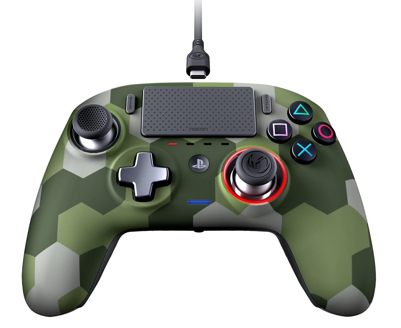 Nacon PS4 Revolution Pro Gaming Controller v3 (Camo Green) screenshot