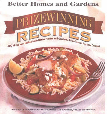 Prizewinning Recipes by Better Homes & Gardens image