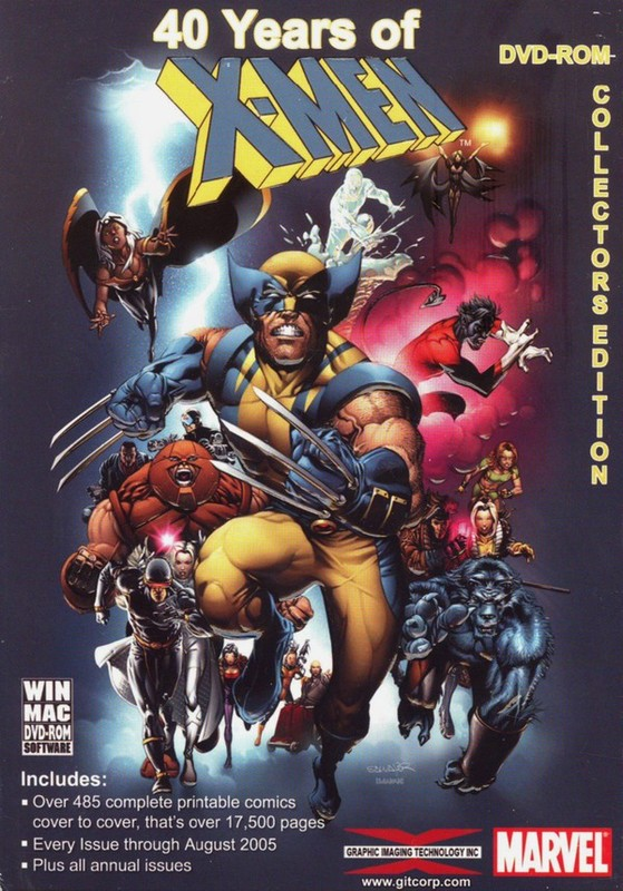 X-Men: Forty Years Complete Comic Collection