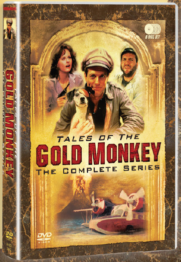 Tales of the Gold Monkey - Complete Series (6 Disc Set) on DVD