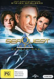 SeaQuest DSV - Season 1 (6 Disc Set) on DVD image