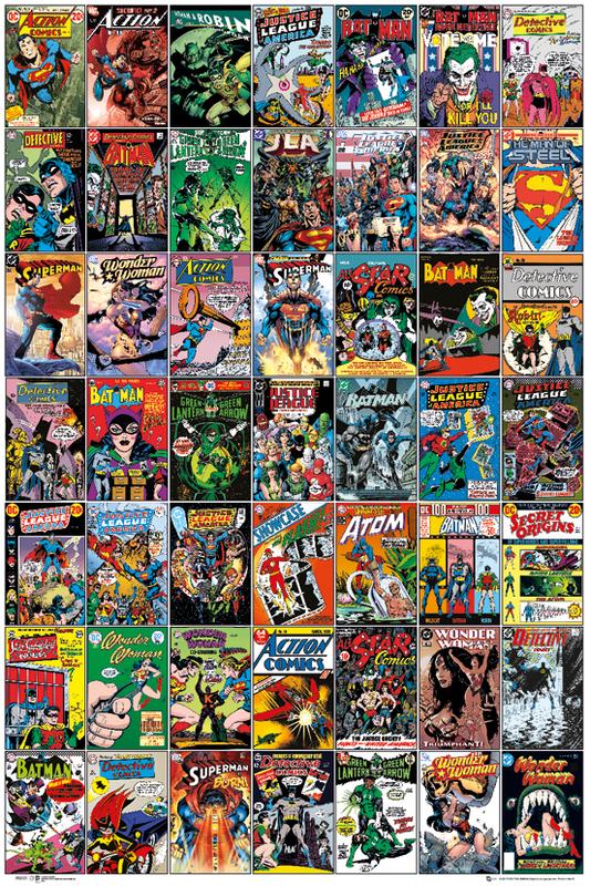 DC Comics Maxi Poster - Covers (110)