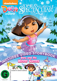 Dora The Explorer: Dora's Ice Skating Spectacular on DVD