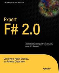 Expert F# 2.0 by Don Syme image