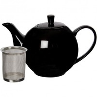 Maxwell & Williams - Infusions Teapot (1.2L) Black Gift Boxed
