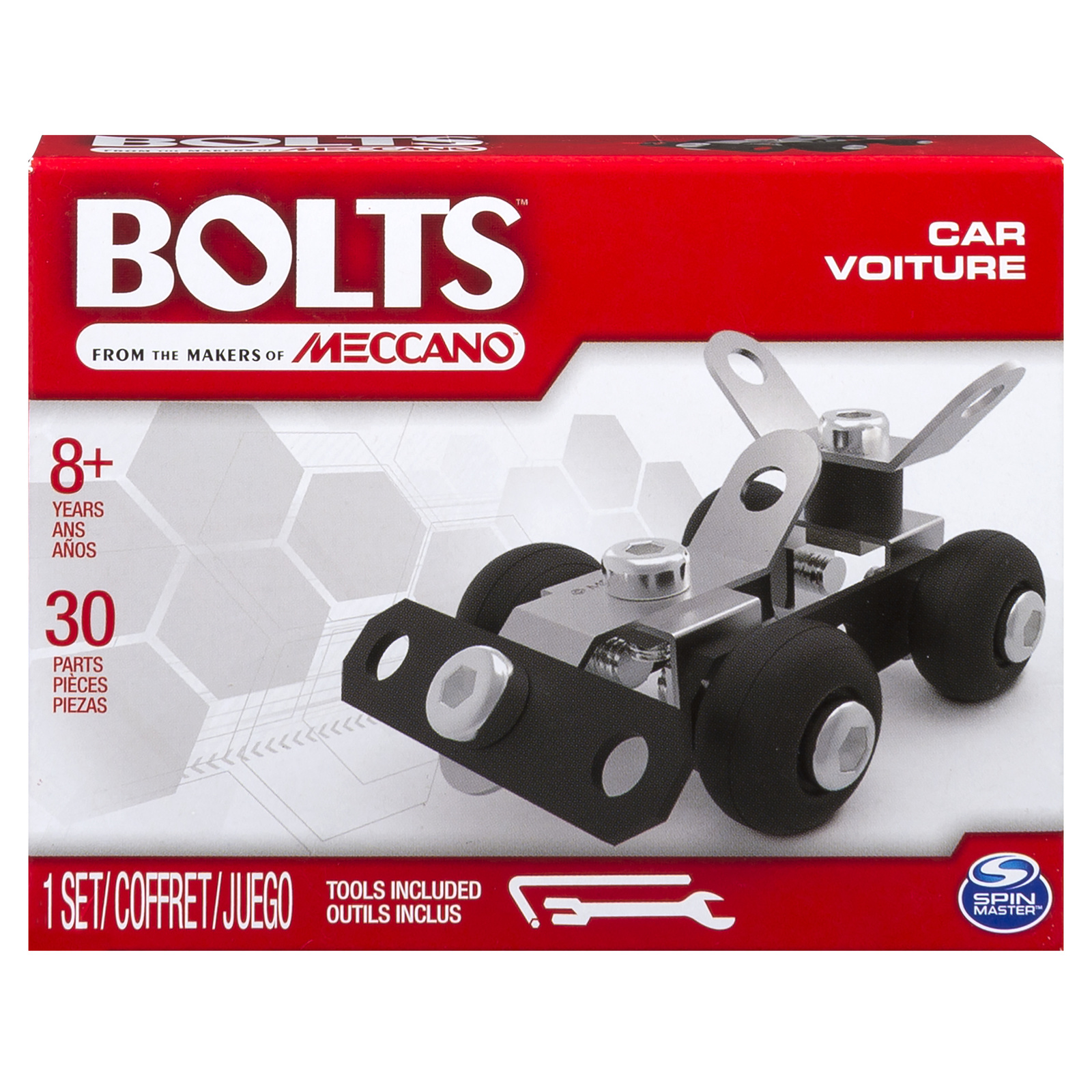 Meccano: Bolts Mini Vehicles - Car image