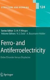 Ferro- and Antiferroelectricity