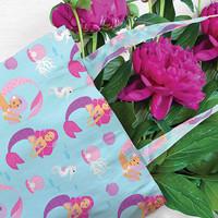 IS GIFT Foldable Shopper - Cute Mermaids image