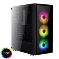 Aerocool: Quartz Mid Tower Case - RGB
