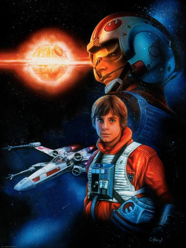 Star Wars: Trust the Force by Claudio Aboy - Lithograph Art Print