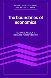 The Boundaries of Economics