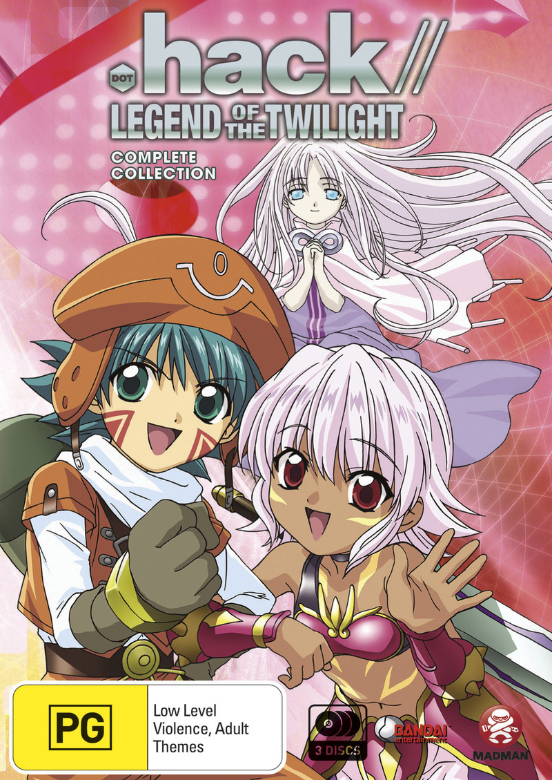 .Hack// Legend Of The Twilight Collection (3 Disc Slimpack) on DVD image