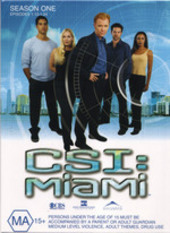 CSI - Miami: Season 1 - Episodes 1.13 - 1.24 (3 Disc Set) on DVD
