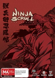 Ninja Scroll: The Series - Collection on DVD image